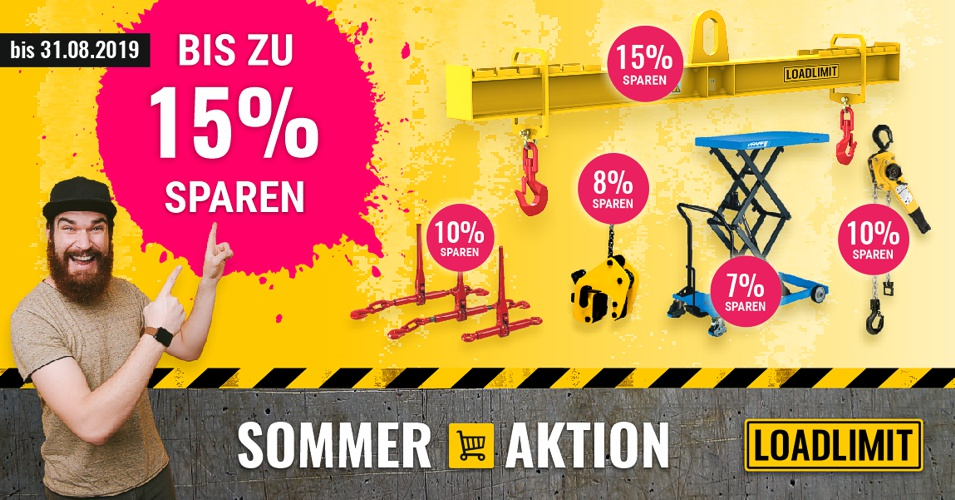 SOMMER AKTION bei LOADLIMIT