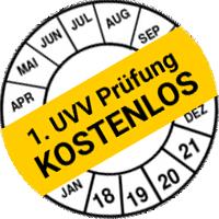 1. UVV-Prüfung kostenlos